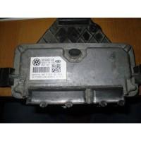 2-Блок управления двигателем VW Polo Sedan 2011- CFNA - 03c906014B - 7GV