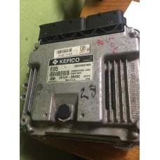 8-Блок управления двигателем Hyundai Solaris 1.6 Автомат-39124-2B450-MEG17.9.12-391242B450