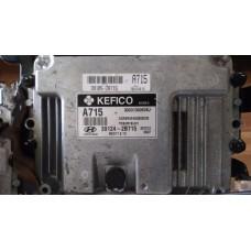 7-Блок управления двигателем Hyundai Solaris 1.6 Автомат - 39124-2B715 - MEG17.9.13