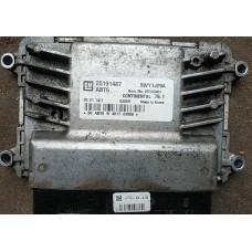 15-Блок управления двигателем Шевроле Круз 1.8 MT-25191487