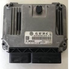 12-Блок управления двигателем VW Фольксваген Tiguan / Тигуан (2011-16)-03l907309ae